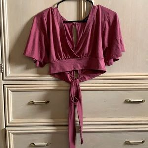Rue21 Pink woman's top